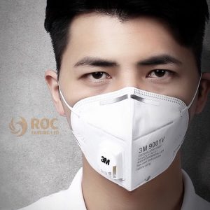 Khẩu trang 3M 9001 có van thở có ưu việt gì?, ROC