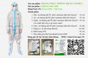 Bảo hộ y tế phòng dịch Green GMC, Giới Thiệu Về Bảo Hộ Y Tế Green GMC, ROC